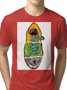 Shoe Tri-blend T-Shirt