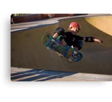 Airborne Grommet - Empire Park Skate Park Canvas Print