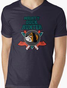 Mighty Duck Hunter Mens V-Neck T-Shirt
