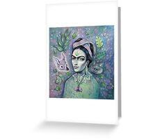 Magical Girl Frida Greeting Card