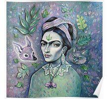 Magical Girl Frida Poster