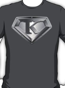 Steel Plated K Letter T-Shirt