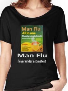 Man Flu Women's Relaxed Fit T-Shirt