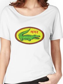 Funky Crocodile Women's Relaxed Fit T-Shirt