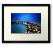 Coastarina Bridge Framed Print