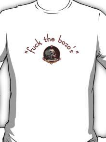 funny bro clown tee fuck the bozos T-Shirt