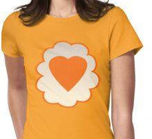 Tenderheart Bear (high version) Womens Fitted T-Shirt