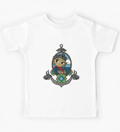Legend Of Zelda - Captain Tetra Kids Tee