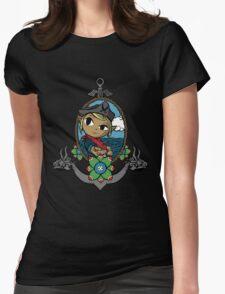 Legend Of Zelda - Captain Tetra Womens Fitted T-Shirt