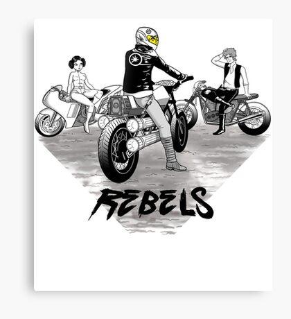 Rebels Canvas Print