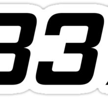 LEET - 1337 Gaming Pro Sticker