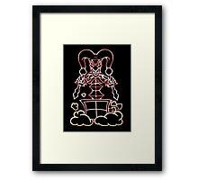 Shaco in the Box (Light) Framed Print