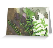 Summer Fern Greeting Card