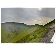 The Lake District: Skiddaw & Longside Poster