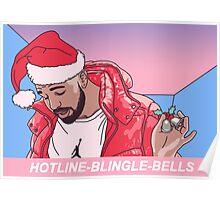 Hotline Blingle Bells Poster