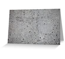concrete wall    Greeting Card