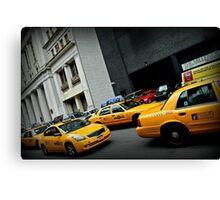 Taxi Taxi Canvas Print