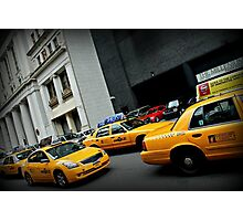 Taxi Taxi Photographic Print