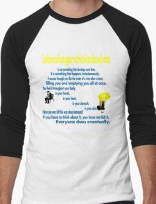 Lebenslangerschicksalsschatz  Men's Baseball ¾ T-Shirt