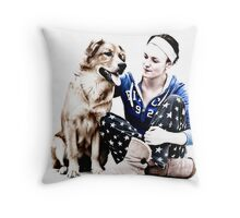 Beauty and the Beast .. Throw Pillow