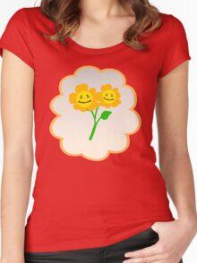 Friend Bear (high version) Women's Fitted Scoop T-Shirt