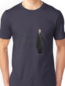 Lestrade is my homeboy Unisex T-Shirt