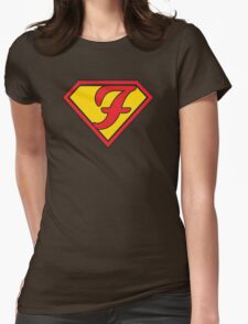 Super F Womens Fitted T-Shirt