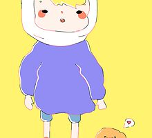 Finn and Jake by bunest