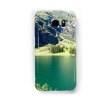 Austria, Tyrol, Hintersee Lake and Landscape Samsung Galaxy Case/Skin