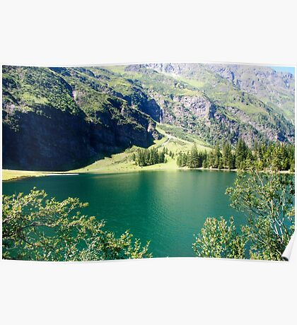 Austria, Tyrol, Hintersee Lake and Landscape Poster