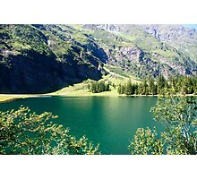 Austria, Tyrol, Hintersee Lake and Landscape Photographic Print