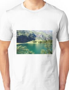 Austria, Tyrol, Hintersee Lake and Landscape Unisex T-Shirt