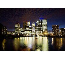 Docklands Marina. Photographic Print