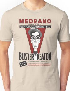 Buster Keaton in Paris Unisex T-Shirt