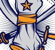 CAP.COMMANDO Sticker
