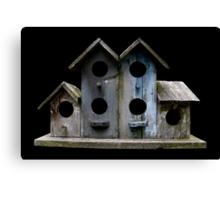 Sluggish Bird's Housing Market Canvas Print