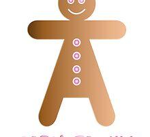 lady cookie humorous design by Veera Pfaffli