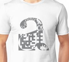 a alphabet symbol braille code design Unisex T-Shirt