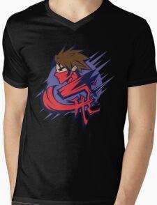 Flying Dragon Mens V-Neck T-Shirt