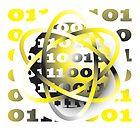 energy atom binary code design by Veera Pfaffli