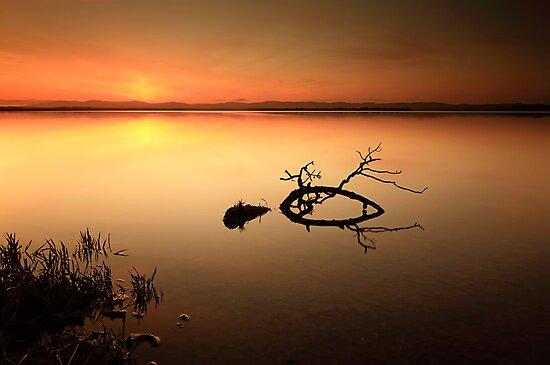 Loch Leven Sunset by Grant Glendinning