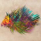hedgehog fractal art by JBJart