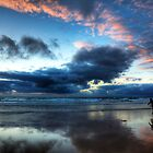 Sunset Surfer by Paul Thompson Photography