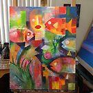 In my studio by Karin Zeller
