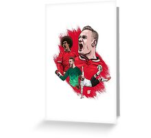 Red Devils Greeting Card