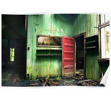 Red Door Dandy Poster