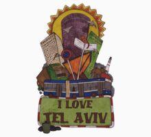 I love Tel Aviv Kids Tee