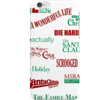 Christmas Movies iPhone Case/Skin