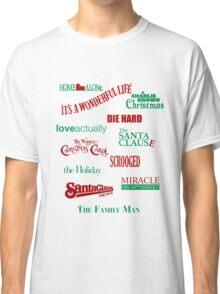 Christmas Movies Classic T-Shirt