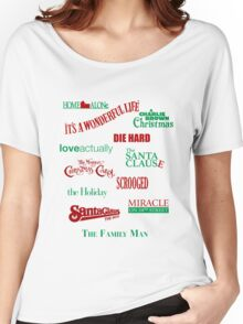 Christmas Movies Women's Relaxed Fit T-Shirt